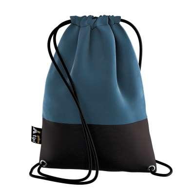 Kiddy Velvet backpack 704-16 dark blue Collection Posh Velvet