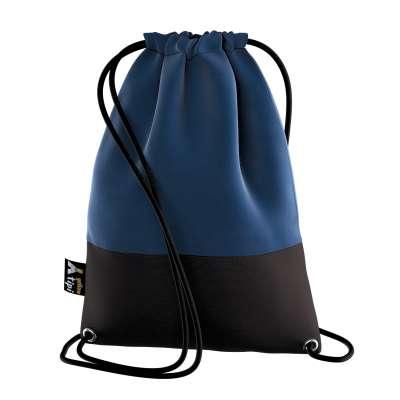 Kiddy Velvet backpack 704-29 navy blue Collection Posh Velvet