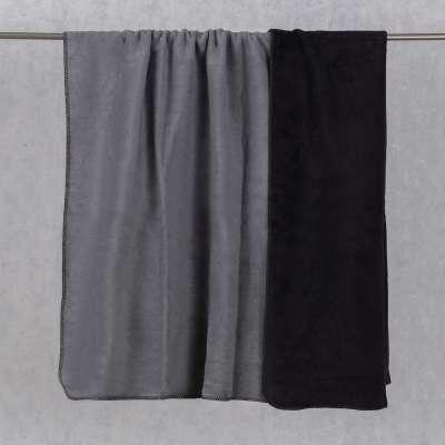 Koc Cotton Cloud 150x200cm Black&Zinc