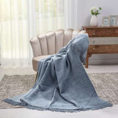 Koc Cotton Cloud 150x200cm Denim Grey