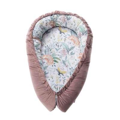 Babynest Velvet Nest Premium rose Bebynester - Yellow-tipi.de