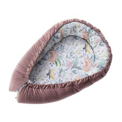 Lovelė Velvet Nest Premium rose Kūdikių mini lovelės - kokonai - Yellowtipi.lt