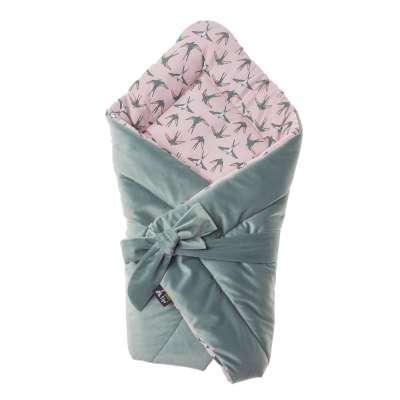 Velvet Nest Premium mint swaddle blanket Bed accessories - Yellowtipi.uk
