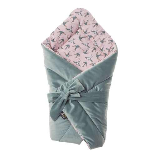 Velvet Nest Premium mint swaddle blanket