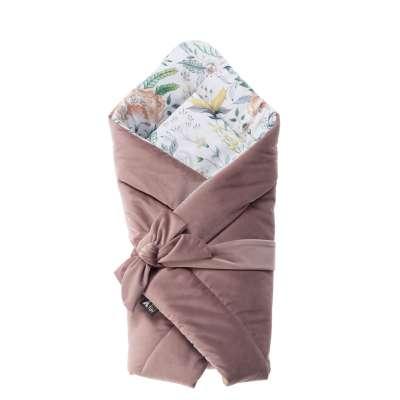 Kūdikio vokelis Velvet Nest Premium rose Daiktai kūdikiams - Yellowtipi.lt