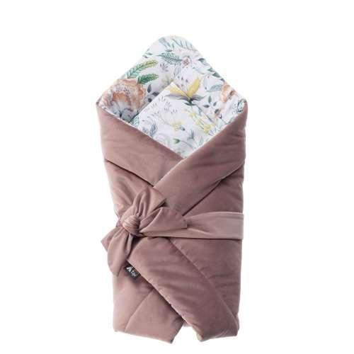 Kūdikio vokelis Velvet Nest Premium rose