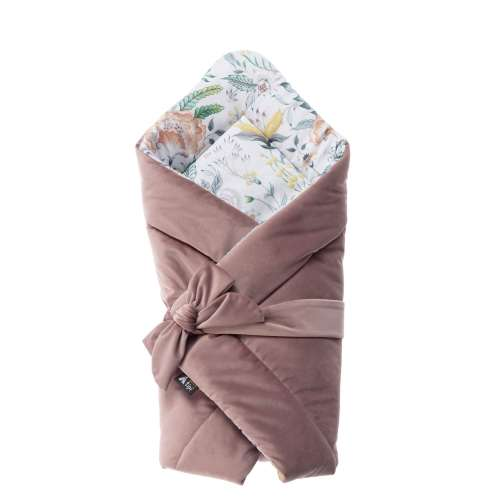 Velvet Nest Premium rose swaddle blanket