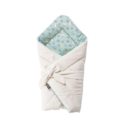 Velvet Nest Premium cream swaddle blanket