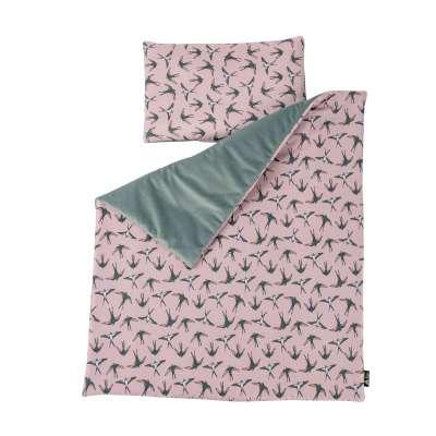 Antklodė ir pagalvėlė Nest Premium mint Rinkinys - antklodė ir pagalvėlė - Yellowtipi.lt