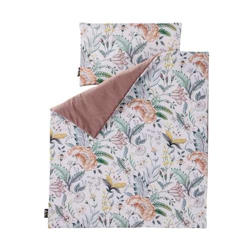 Antklodė ir pagalvėlė Velvet Nest Premium rose