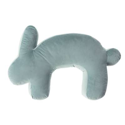 Kojící polštář Velvet Bunny mint