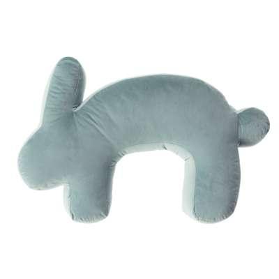 Velvet Bunny mint nursing pillow