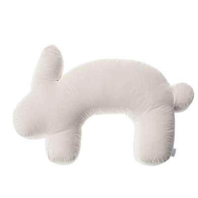 Velvet Bunny cream nursing pillow