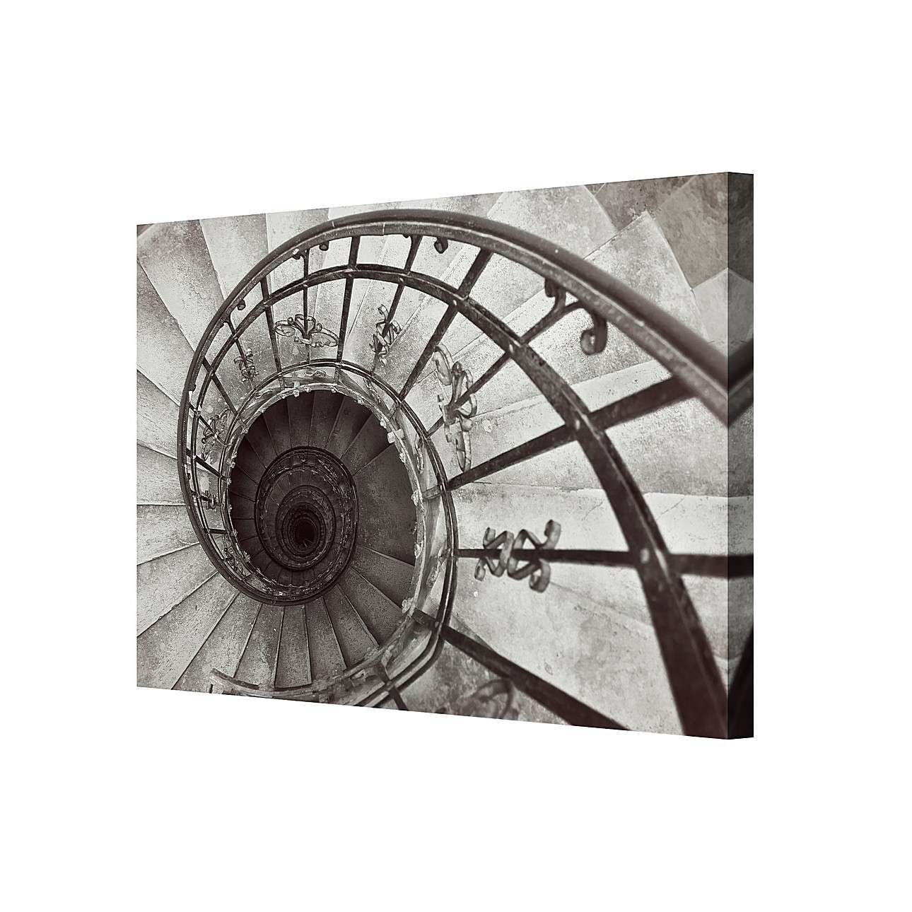 Leinwandbild Spiral Stairs