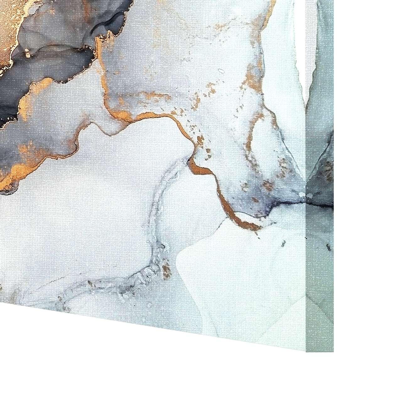 Leinwandbild Black&Gold Abstraction