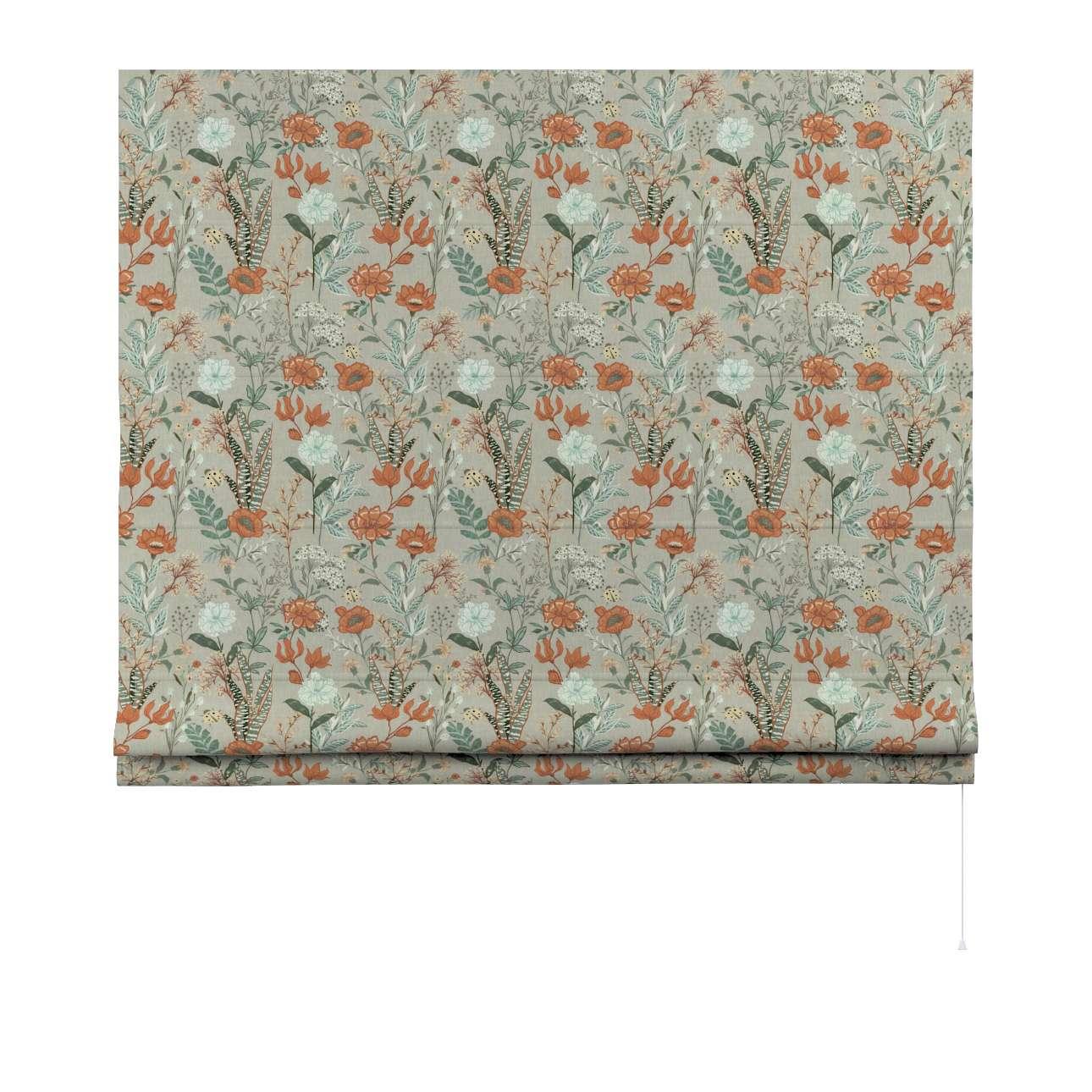 Vouwgordijn Bari van de collectie Flowers, Stof: 143-70