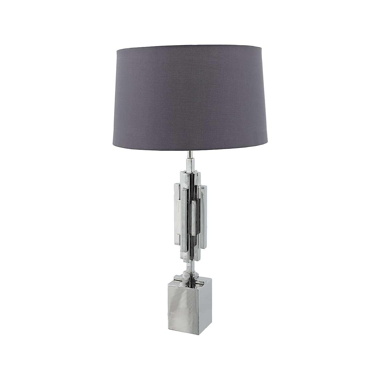 Vyšší stolní lampa Canzone výška 105cm