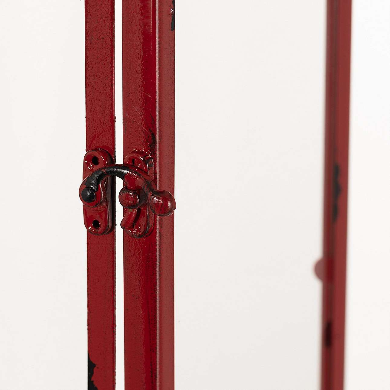 Laterne Colin Red 26x15x48 cm