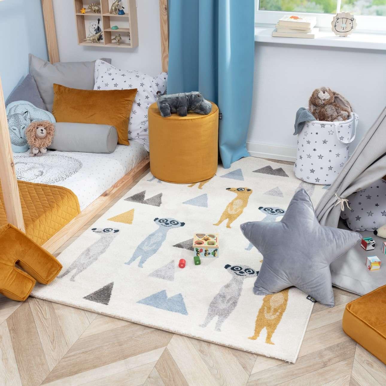 Funny Meerkat rug 120x170cm