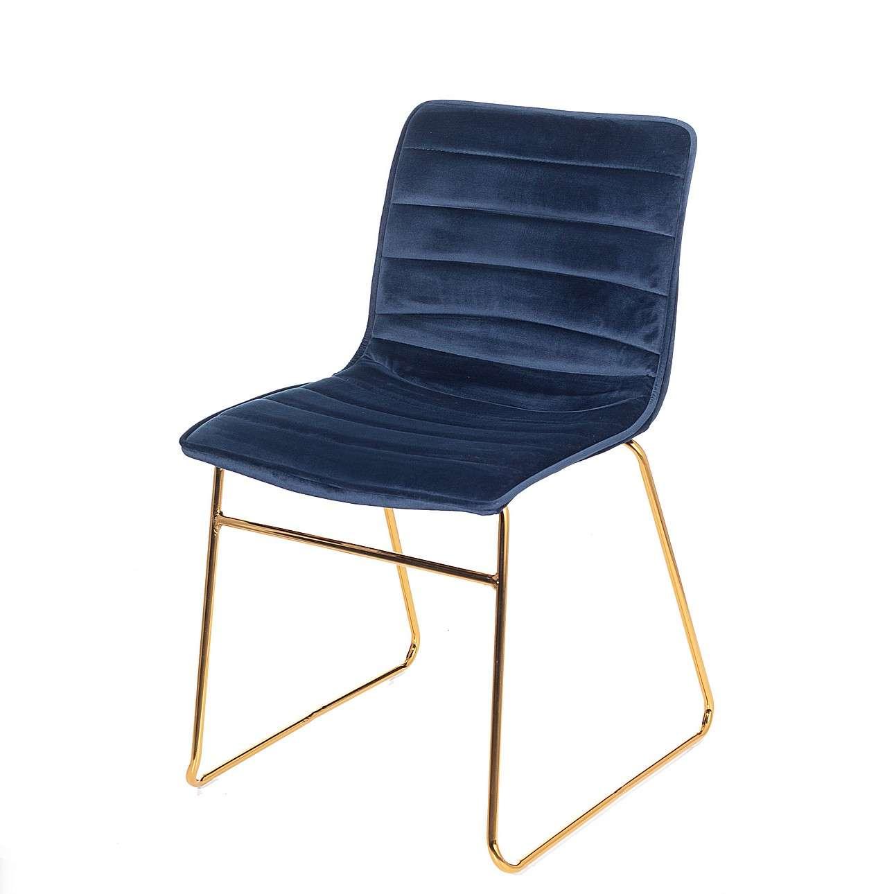 Čalouněná židle Milo Navy