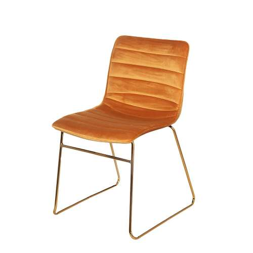 Čalouněná židle Milo Mustard