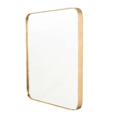 Lustro Vitrail Gold 51x4x61cm