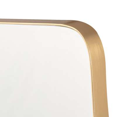 Spiegel Vitrail Gold 51x4x61cm