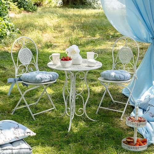 Dekoria Zestaw ogrodowy Rosane stolik + 2 krzesła