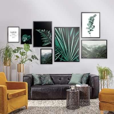 Zestaw obrazów Green Jungle 7szt.