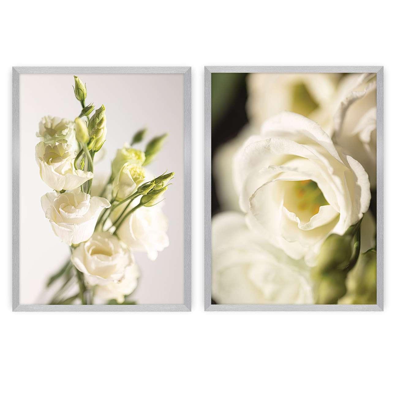 Bilder-Set Flowers 2 Stck.