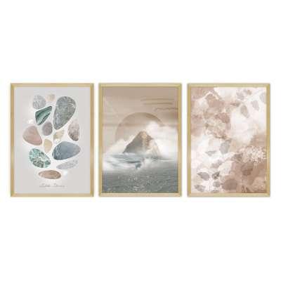 Zestaw obrazów Silence 3szt. Képek, tükrök, órák gyertatartók és sok gyönyörű dekor elem - Dekoria.hu