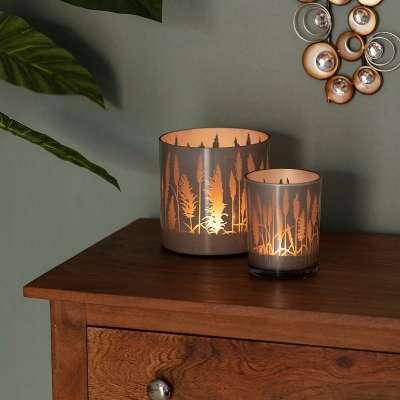 Świecznik Grass Silver 12cm