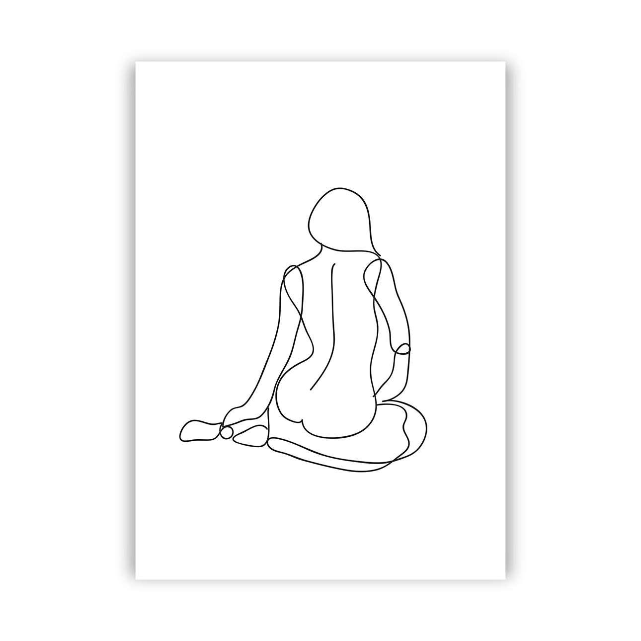 Poster Figure Line I