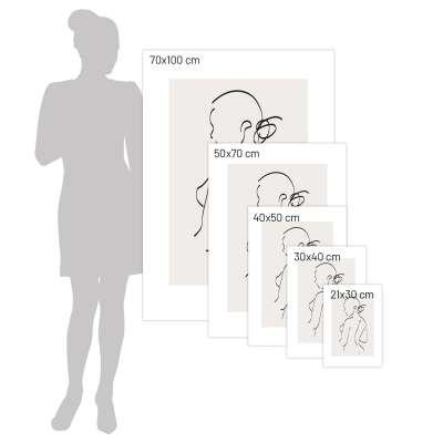 Plakat Body Line I