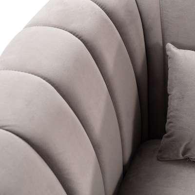 Sofa Meriva Velvet rocky 3-Sitzer