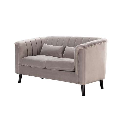 Sofa Meriva Velvet rocky 2-Sitzer