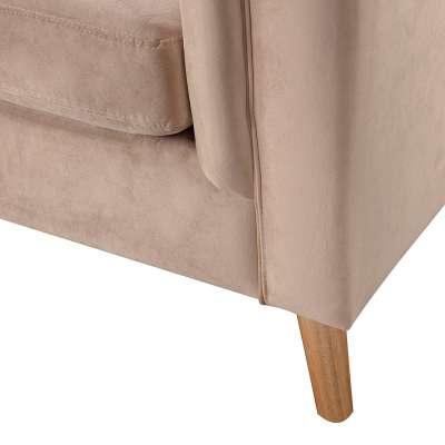 Fotel Meriva Velvet beige