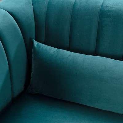 Sofa Meriva Velvet teal 3-os.