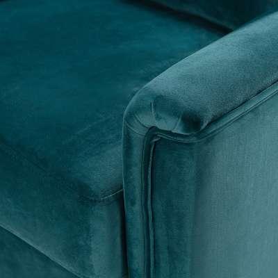 Fotel Meriva Velvet teal