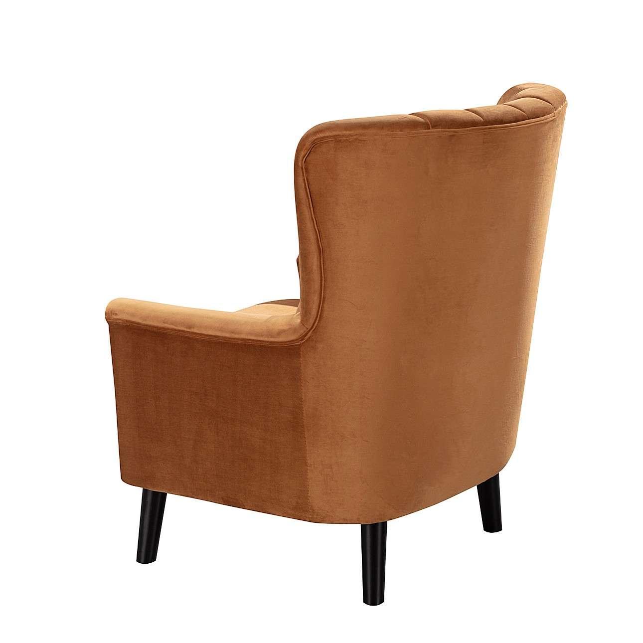Fotel Meriva Velvet caramel