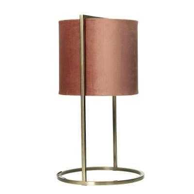 Tischlampe Santos Pink&Gold 45 cm