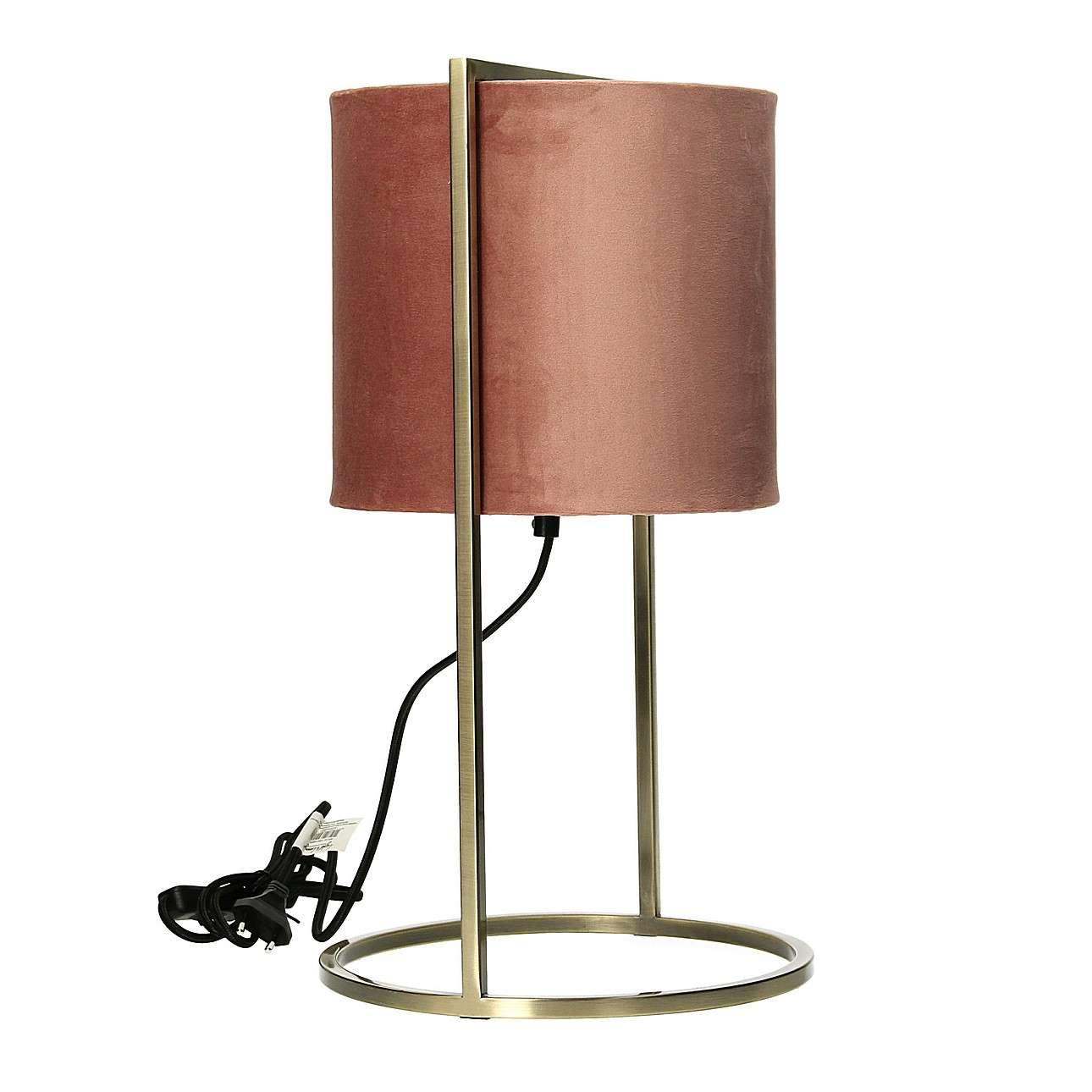 Lampa stołowa Santos Pink&Gold