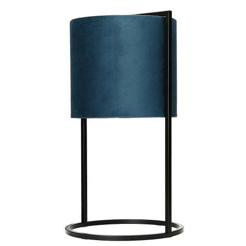 Stolní dekorační lampa Santos Blue výška 45cm