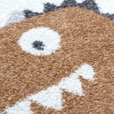 Amber dino rug 120x170cm