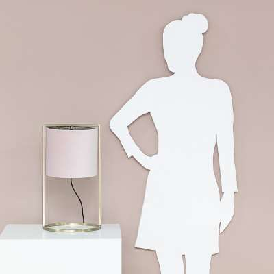 Tafellamp Santos Light Pink Lampen - Dekoria.nl