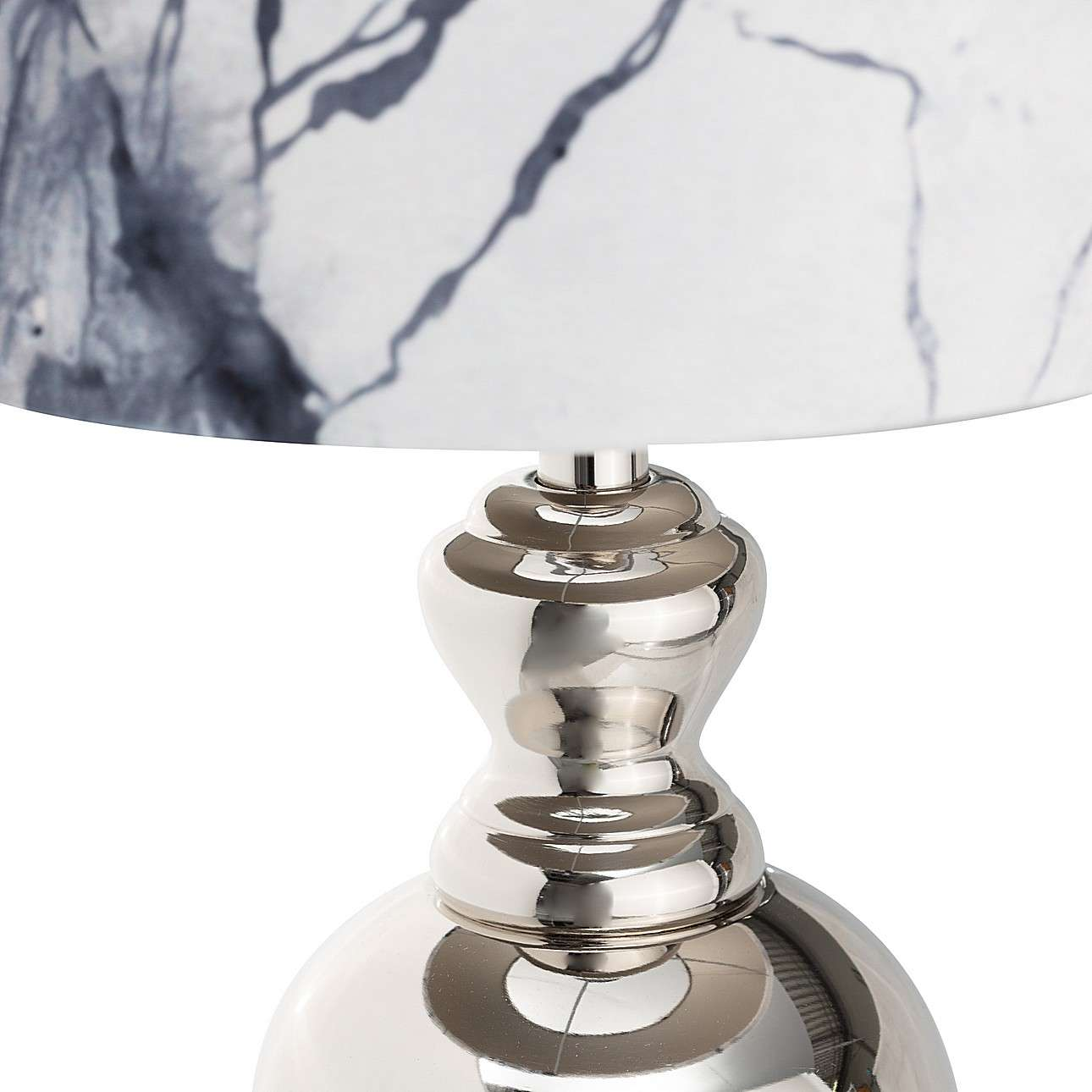 Tischlampe Marble Grey 55,5cm