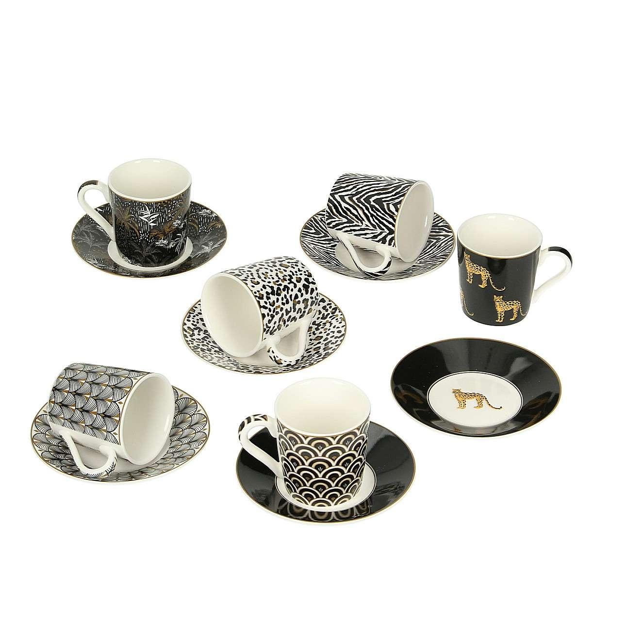 Espresso porcelánový servis  Savanna 6x100ml
