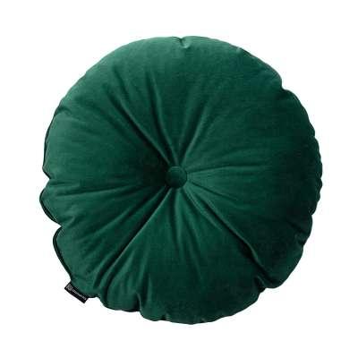 Poduszka okrągła Velvet z guzikiem 704-13 Kolekcja Velvet