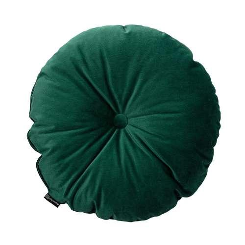 Poduszka okrągła Velvet z guzikiem