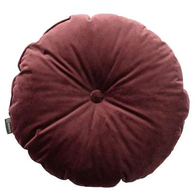 Poduszka okrągła Velvet z guzikiem 704-26 Kolekcja Velvet